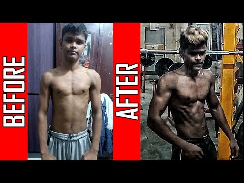 Nikhil Tayde | 6 months Natural Body Transformation | Journey from Skinny to Fit