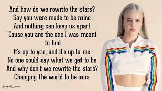 Rewrite The Stars  Annemarie  James Arthur Lyrics