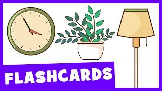 Learn Living Room Vocabulary | Talking Flashcards