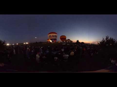 Harvard IL Balloon Fest 2017 - NightBurn 1