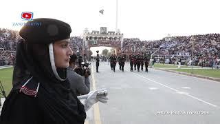 Pakistan ve Hindistan Sınırında Bayrak Töreni Çok Çekişmeli