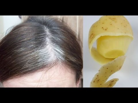 Tips to Get Rid Of White Hair With Use Water Boiling Potato Peels
