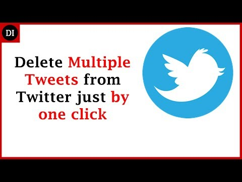 How To delete Multiple Tweets from Twitter in easiest way |Delete old Tweets in one click |Deep Info