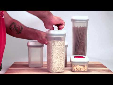 How to keep your food FRESH for a longer time - Food Storage Container *Airtight Seal*