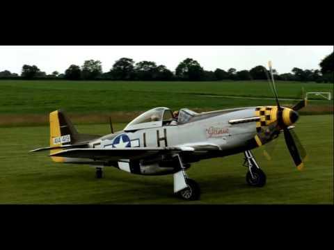 P51 'Janie' @ Hardwick Warbirds Open Day