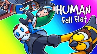 Human Fall Flat Funny Moments - Custom Maps Are HERE!!