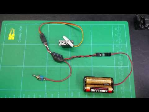 Toggle Switch Servo Positioner with Speed Control