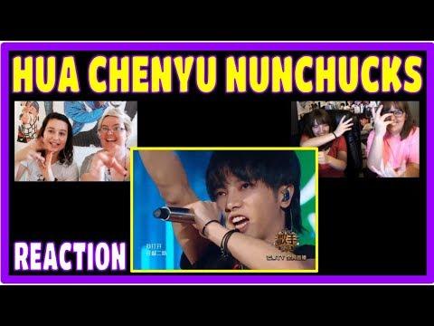 HUA CHENYU (双节棍) Nunchucks Performance Reaction