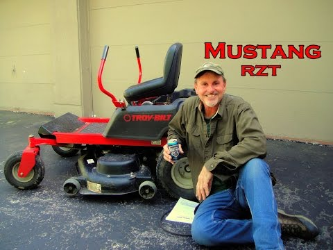 Mustang RZT; Troy-Bilt Lawn Mower,  Replacing Drive Belt - Scott Lanson