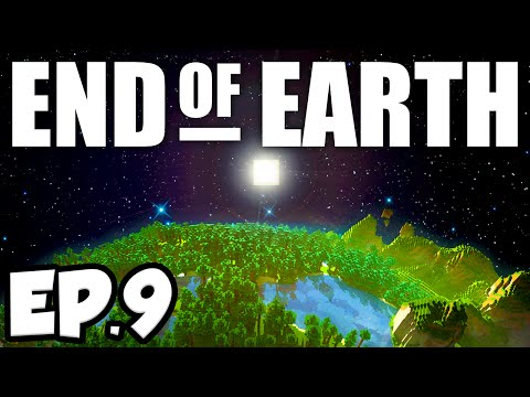 End of Earth: Minecraft Modded Survival Ep.9 - UPGRADING THE SMELTERY!!! (Steve's Galaxy Modpack)