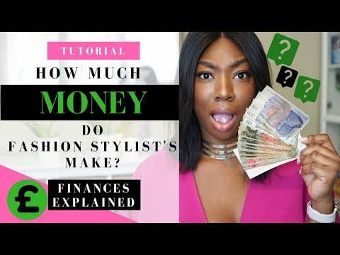 Fashion Stylist Tutorial | How Much Do Fashion Stylists Get Paid? Finances Explained!