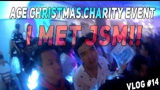 I MET JSM!!   ACE CHRISTMAS CHARITY EVENT   VLOG #14