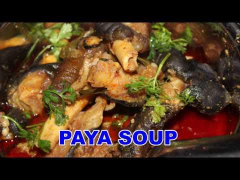 Mutton Paya Soup @ Mana Telangana Vantalu
