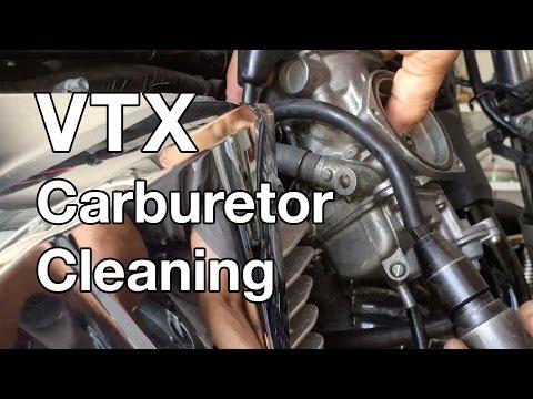 How To: Honda VTX 1300 Carburetor Cleaning Part 1