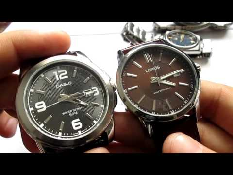Review: Lorus Watches Made by Seiko, very affordable, and look really nice!