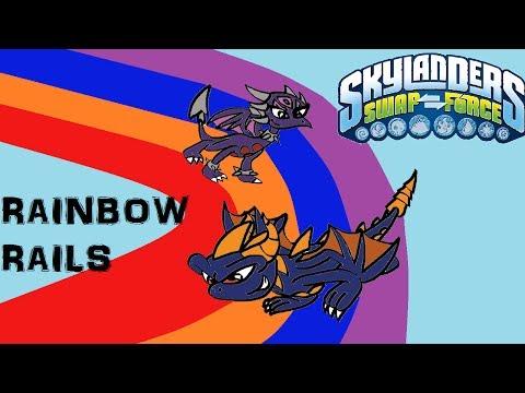 Skylanders SWAP Force - Rainbow Rails