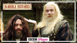 VIKING FASHION TIPS | Horrible Histories | Viking Eye for a Saxon Guy
