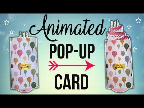Animated Pop-Up Card - EASY DIY