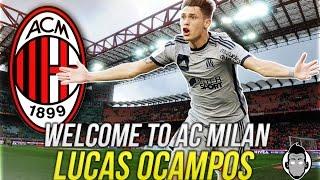Lucas OCAMPOS - Welcome to AC MILAN