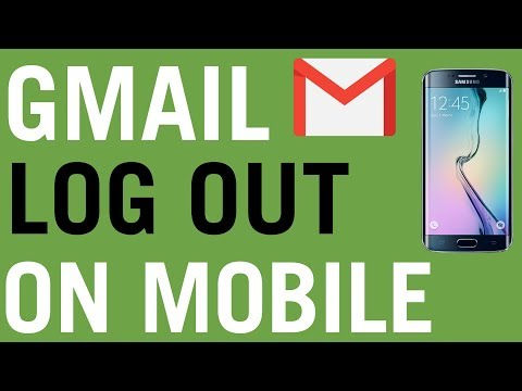 How To Log Out of Gmail On Phone 2018 Tutorial