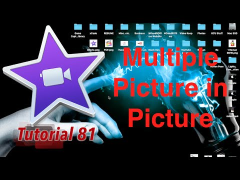 Multiple Picture in Pictures in iMovie 10.1.1 | Tutorial 81