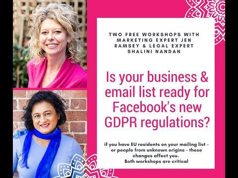 GDPR Compliance for Small Business : Interview with Jen Ramsey