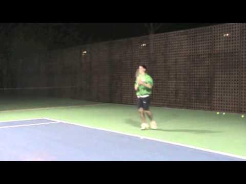 Ignacio Llorente, College Tennis Recruiting Video