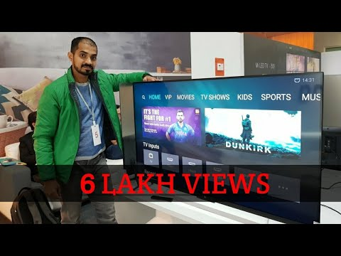 Mi Led 4K TV - Rs 39999 - Cheapest 4K TV - First Look
