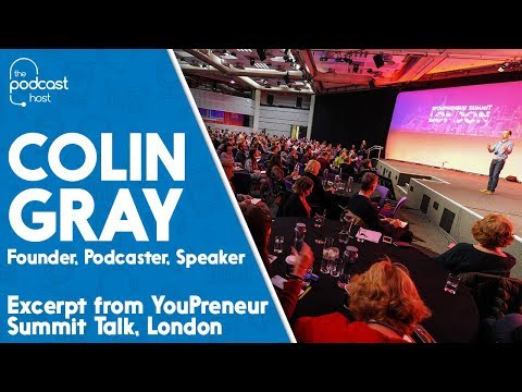 Colin Gray - Speaking about 'Building Your Own Boss'