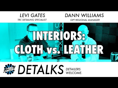Detailing Interiors: Cloth vs. Leather - DETALKS