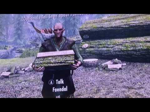 Skyrim: How to get Sven/Fendal as a follower