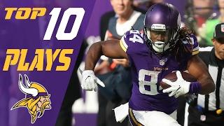 Vikings Top 10 Plays of the 2016 Season   NFL Highlights