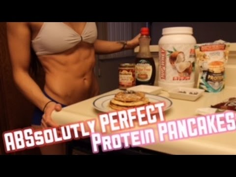 COOKING WITH STEPH | perfect protein pancakes | RECIPIE VIDEO