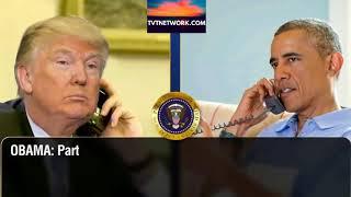 Trump calls to Obama pt 3 (the inaugural anniversary)