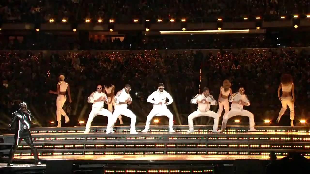 Black Eyed Peas Super Bowl XLV Halftime Show HDTV