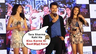 Download Tiger Shroff And Ananya Pandey Making Fun Of Tara Sutaria SOTY 2 Song Launch Video