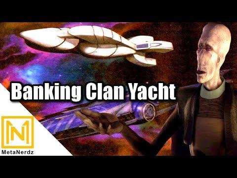 Muun Status Symbol - Banking Clan Ship - BC-714 Luxury Transport - Star Wars Clone Wars Ships