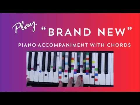 Brand New - Easy Piano Tutorial - Ben Rector