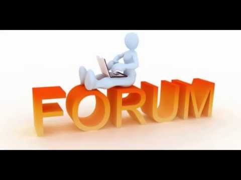 How to create backlinks on high PR forum site