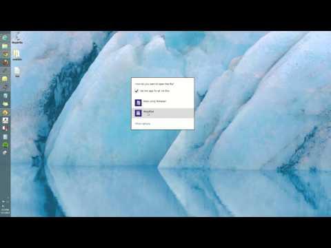 Windows 8: How to set default programs