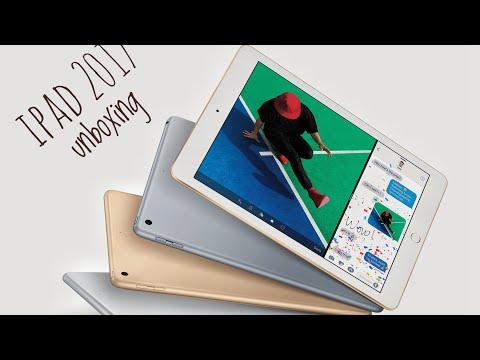 iPad 2017 unboxing