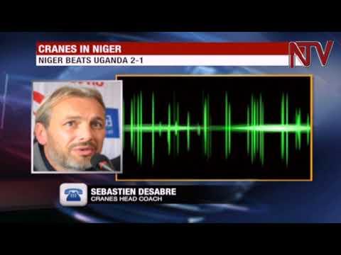 Uganda Cranes lose again, to Niger 2-1