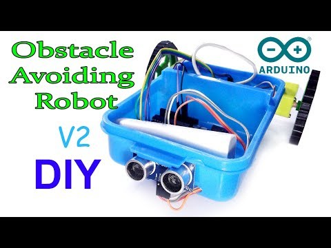 Obstacle avoiding robot | How to make