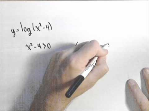 Domain of Logarithmic Functions