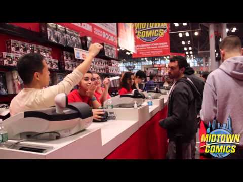 Midtown Comics at New York Comic Con 2014!