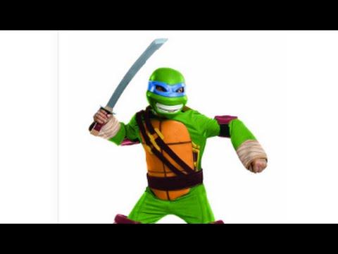 Teenage Mutant Ninja Turtles Deluxe Leonardo Costume Review