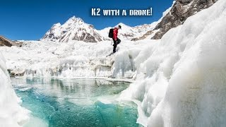 K2 with a Drone!