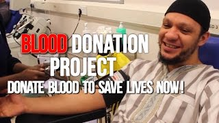 Blood Donation Project - Donate Blood to Save Lives NOW!