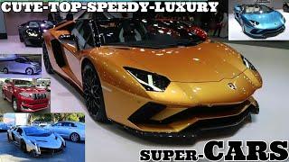 Super cars 2018/2019 - cute futuristic vehicles - best top wonderful colourful - music - SCREENSHOTZ