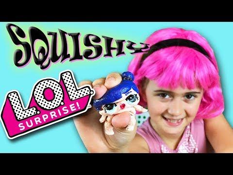 DIY, SQUISHY LOL Surprise Dolls (Sis vs Sis!)